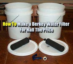 Home Made Berkey Water Filter For Half The Price - SHTF, Emergency Preparedness, Survival Prepping, Homesteading
