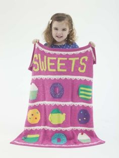 Sweets Afghan FREE PATTERN from Lion Brand