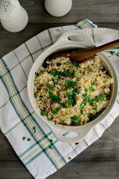 Baked Rice Pilaf | www.SimplyScratch.com