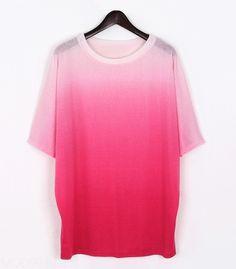 ombre t-shirt...looks comfy!