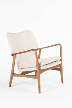 Beige Fabric Arm Chair