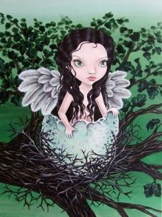 Dryad - the oak tree fairy - 5x7 Print by Tanya Bond. Starting at $9 on Tophatter.com!