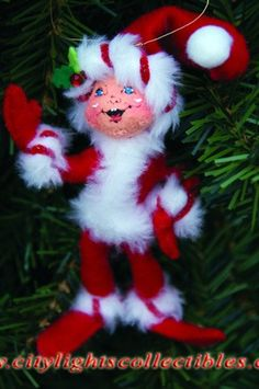 Annalee Dolls ~ Christmas Elf