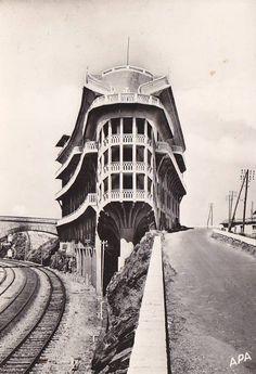 Léon Baille, Hôtel du Belvédère, Cerbère France, 1928-1932