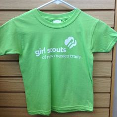 GSNMT Logo Tee- Lime Green- Available in limited quantities- Youth XS- $4.00 and Adult Small, Medium, Large and XL- $5.00.