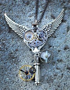 steampunk+key+Tattoo+Designs | Amazing Jewelry Designs For Inspiration