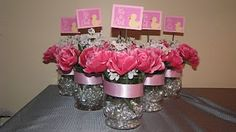 Creatively Challenged: Baby Shower Centerpieces baby-shower
