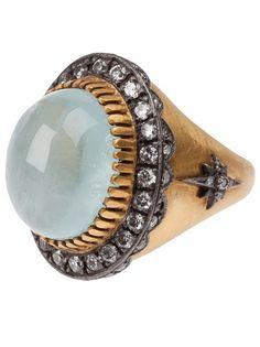 SARA WEINSTOCK Aquamarine Ring