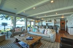 gorgeous home with a view - open plan living