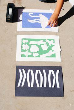 Kids Craft: Sun Prints