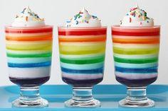 Rainbow Jello (from Glorious Treats)