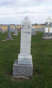 Tombstone Tuesday–Maria (Kuhm) Berron #genealogy #familyhistory