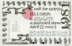 1960s Fluxus postcard
