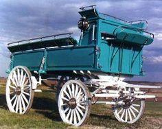 horse wagons - Google Search hors drawn, hors tack, hors buggi, hors wagon