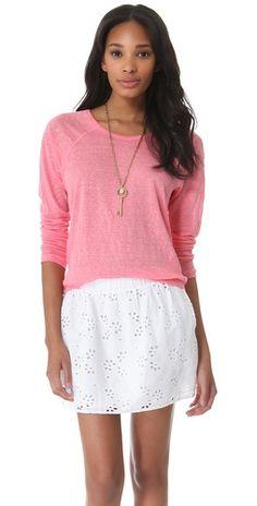 long sleeve dolman sweatshirt / c california