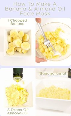 How to make your own banana face mask