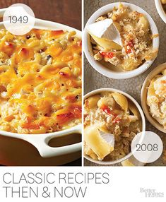 We've updated our classic recipes! Get more tricks here: http://www.bhg.com/recipes/trends/classic-recipes-then-and-now/?socsrc=bhgpin080114classicmeetsmodern&page=1