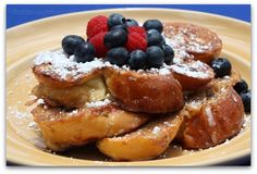 Challah French Toast by thatssoyummy #French_Toast #Challah