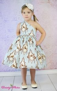 Paris Party Dress PDF Sewing Pattern by Create Kids Couture