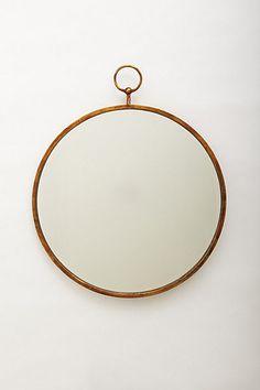 hoop mirror.