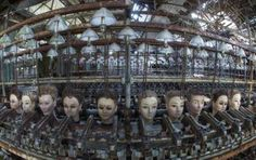 Abandoned doll factory, Spain
