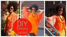 DIY Kimono Jacket | Sewing For Beginners #diy #howto #tutorial