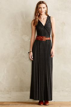 Knotted Maxi Dress - anthropologie.com