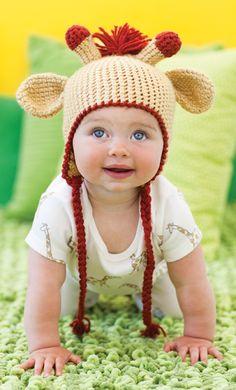 Giraffe Hat | crochet today