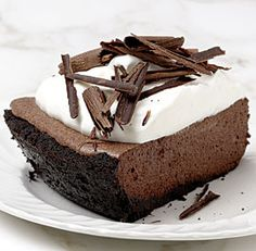 Chocolate Chiffon Pie recipe