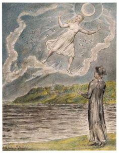The Wandering Moon William Blake