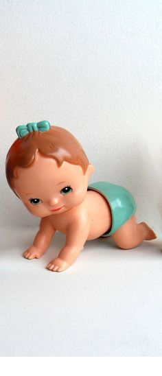 Kid A Long wind-up crawling baby! My sister had this one and two others.