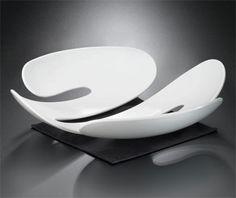 Koziol Eve White Fruit Bowl