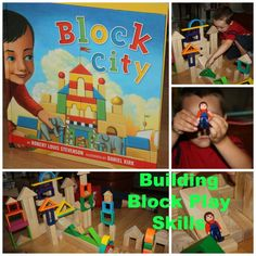 Book Inspired Block Building for #Kids