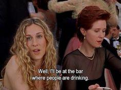 I'll be drinking
