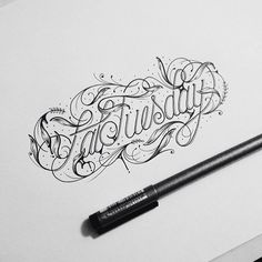 Typeverything.com Fat Tuesday by @draw_ul via goodtype.