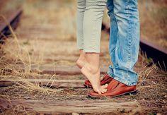 Engagement or couple photo