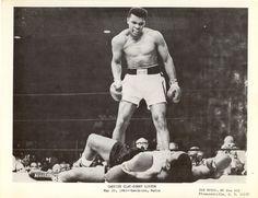 Cassius Clay / Sonny Liston fight