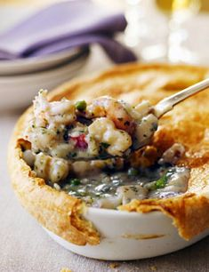 Ina Garten's Seafood Pot Pie