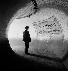 British Museum Underground Station, London, 1937 E.O. Hoppe