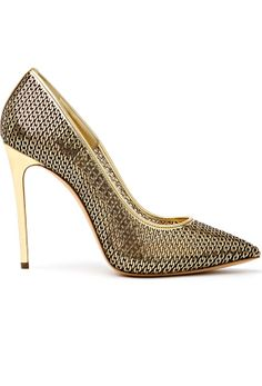 Casadei- Gorgeous, with a ripped pear of faded jeans and a black cashmere sweater