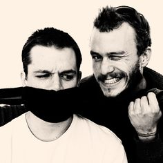 """heath was the greatest actor i've ever worked with."" - matt damon."