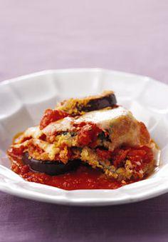 Eggplant Parmesan Recipe at Epicurious.com