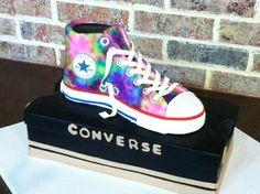 converse cake  too cute!!