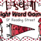 FREEBIE: This fun baseball theme sight word game will be a HOMERUN with your kiddos!! It contains all 40 sight words from SF Reading Street.