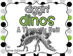 Get ready to Dig into Dinosaurs!!!  This DINO-mite unit is jam-packed with fun, creative, and interactive activities for your primary students. Take a peek at the preview for a more detailed showcase of what is included in this DINO-mite unit!!!