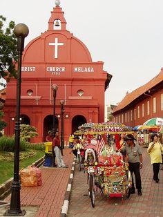 Christ Chruch, Melaka, Malaysia
