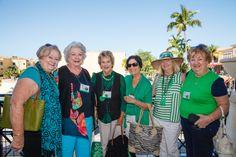 Emmanuel College Alumni St. Patrick's Event | Naples, FL | 3.15.14 - Helen Watson, Carol Brugman Melley'58, Sheila Deignan  Brennan '58, Peggy Lisi, Mandy Junior and Anna J.Foley'58