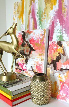 cozamia, abstract art, brass animal