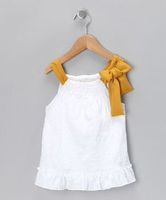 Love this color too! Maize Cottage Swing Top - Toddler by Cavelle Kids & Eternal Creation on #zulily today!