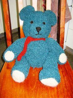 Adorable crochet teddy bear!